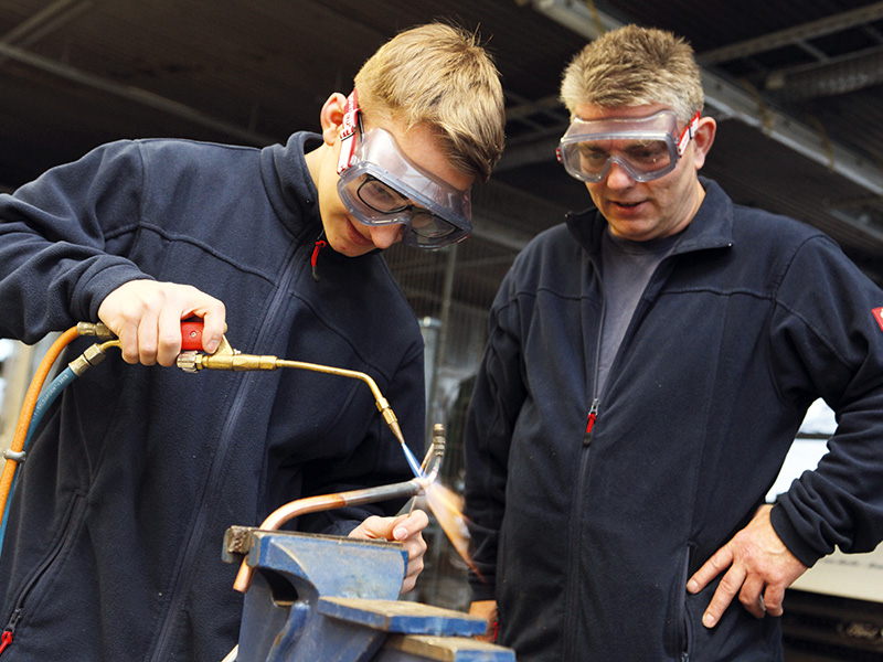 Ausbildung von Fachkräftenachwuchs