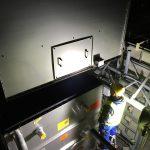 Nächtlicher Kraneinsatz LBB Kühltürme KTK